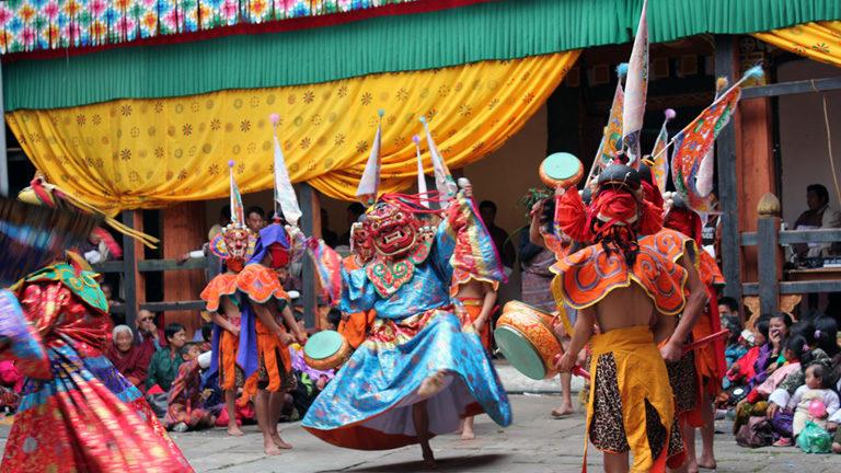 Jakar - Tshechu Festival