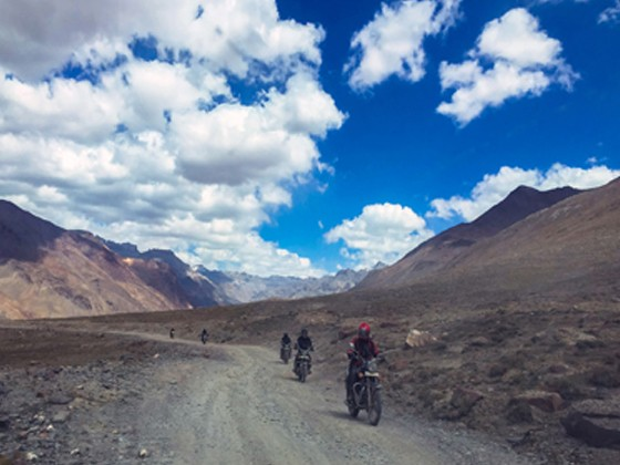 Bike Ride in Ladakh